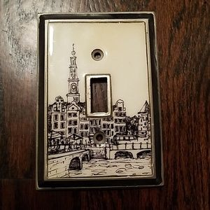 NWT Anthropologie light switch cover